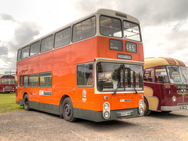 GM Buses Leyland Atlantean, Heaton Park