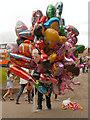 SD8303 : Balloon Seller at Heaton Park by David Dixon