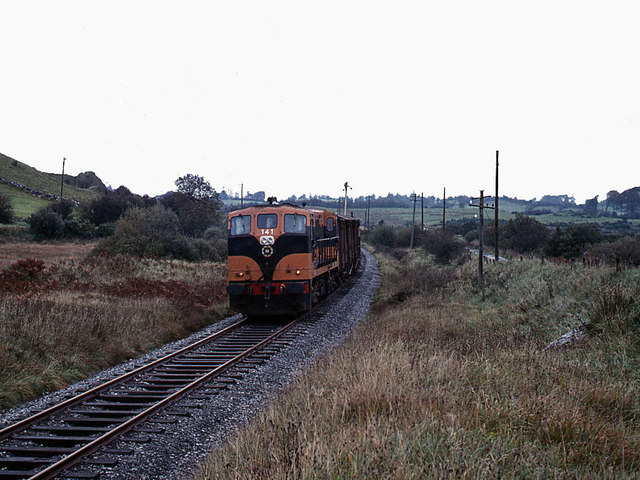 Freight train at Lisheenabrone