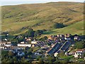 SO1107 : Evening view across the Rhymney Valley by Robin Drayton