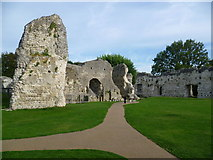 TQ4109 : Ruins of the Priory of St Pancras, Lewes by Marathon