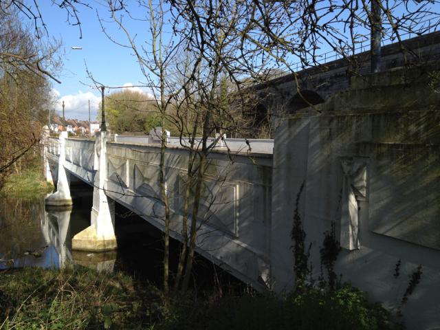 West side of Prince's Bridge