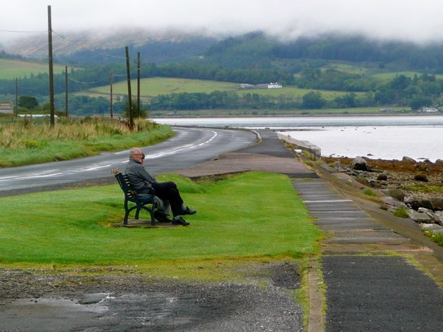 Quiet contemplation at Kames Bay