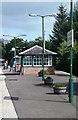 NN3104 : Arrochar & Tarbet Station by Mary and Angus Hogg