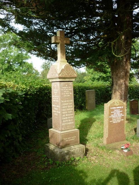 War Memorial, Newton Arlosh