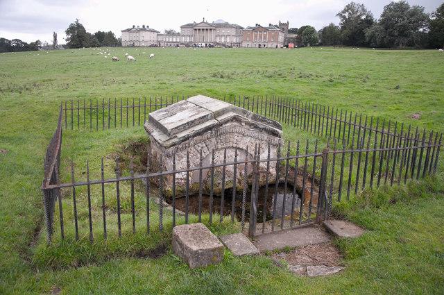 Lion's Mouth Fountain - Kedleston Hall