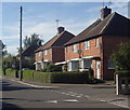 SK6761 : Houses on Triumph Road, Eakring by Andrew Hill