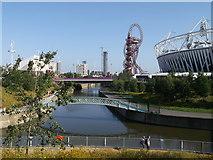 TQ3784 : River Lea junction, London 2012 by David Anstiss