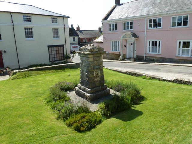 War memorial in the churchyard