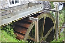SY1988 : Manor Mill - Overshot Wheel by Ashley Dace