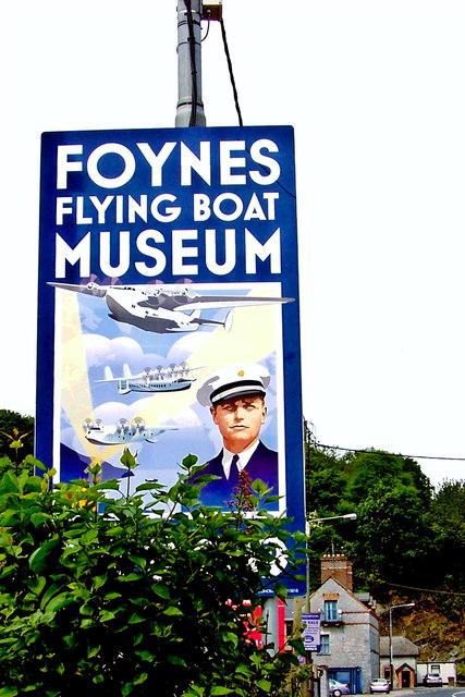 Foynes - Main Street (N69) - Flying Boat Museum Banner