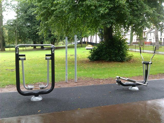 Fitness Equipment (1) \u00a9 Kenneth Allen cc-by-sa\/2.0 :: Geograph Ireland