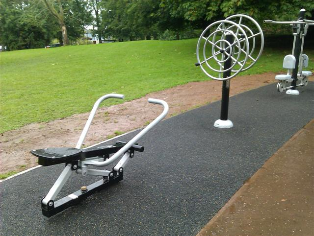 Fitness Equipment (3) \u00a9 Kenneth Allen :: Geograph Ireland