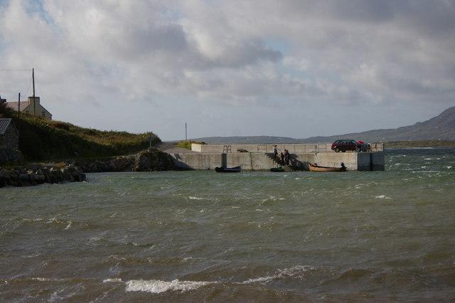 Quay near Dumhaigh Ithir