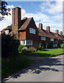 TL1724 : Chequers cottages, Preston (1913) by Julian Osley
