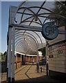SJ9123 : Covered walkway, Stafford by Derek Harper