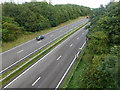 SK0481 : Above the A6 by Graham Hogg