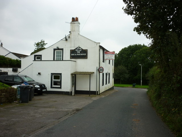 The Dog and Partridge pub, Sandwith