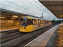 SD7807 : Night Tram to Bury by David Dixon