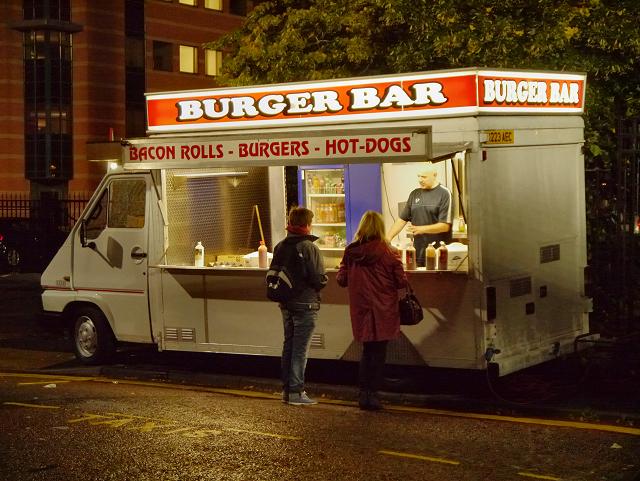 Burger Bar at Old Trafford