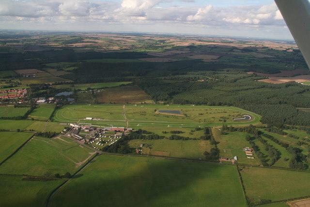 Market Rasen Racecourse (aerial)