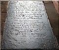 SO7137 : Exchanging Time for Eternity, Ledbury church by Bob Embleton
