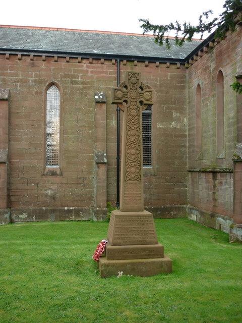 War Memorial, Calderbridge