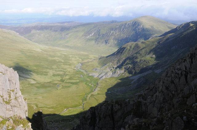 View into Cwm Eigiau