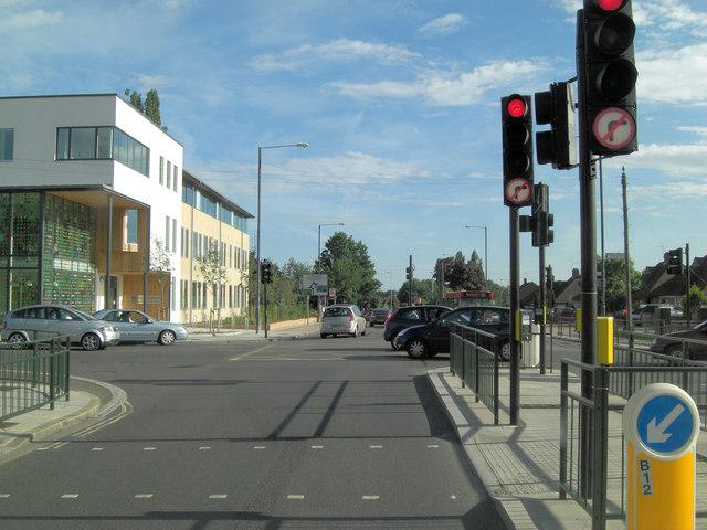 B358 - Hospital Bridge Road junction