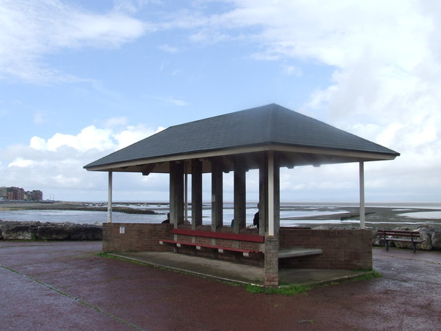 Seafront shelter, Bare near Morecambe