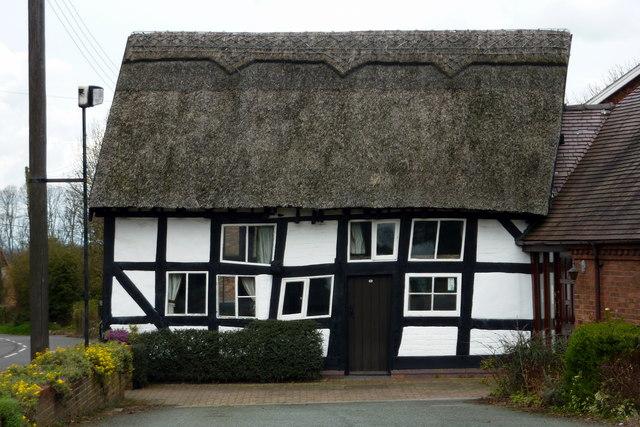 Old Tudor House, Hodnet, Shropshire