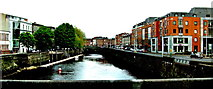 R5757 : Limerick - George's Quay, Bridge Street & River Abbey,  Bank Place - Gardner House  by Suzanne Mischyshyn