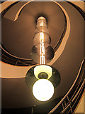 TQ7407 : Light and spiral staircase, De La Warr Pavilion by Oast House Archive