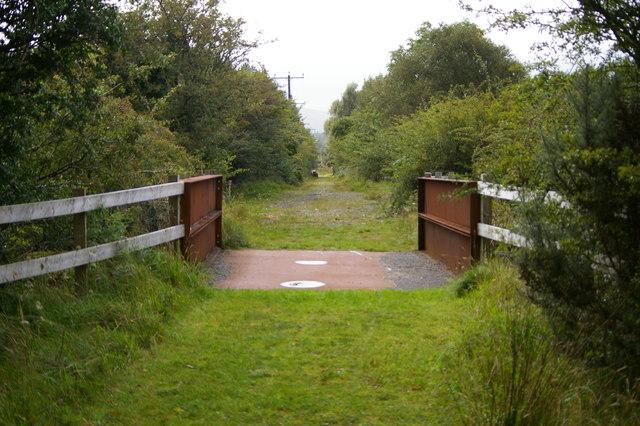 Bridge on the Clifden-Galway Railway