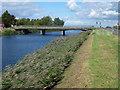 TF5506 : Neep's Bridge and The Middle Level Main Drain by Richard Humphrey