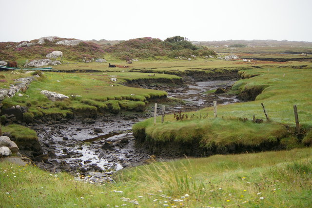 Tidal creek near Carna