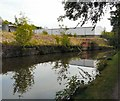 SJ9495 : Industrial area by the Peak Forest Canal by Gerald England