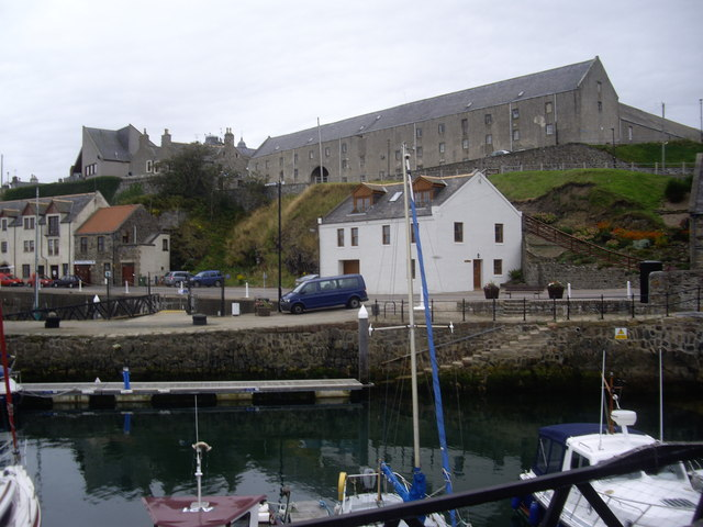 A view from Banff Harbour