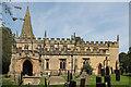 SK2572 : St Anne's church, Baslow by J.Hannan-Briggs