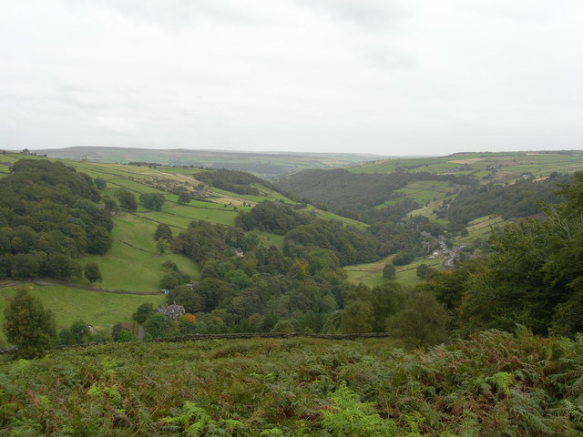 View Northeast from Turley Holes Edge