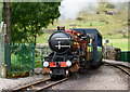 NY1700 : 'River Mite' Arriving at Dalegarth Station by Peter Trimming