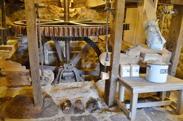 Zennor Mill - Pit Gearing