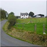 SN4853 : Farm near Tryal Manor by Roger W Haworth