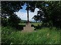 NT9130 : War memorial, Kirknewton by Tim Heaton