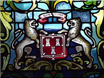 NJ9406 : Aberdeen City Coat of Arms by Colin Smith