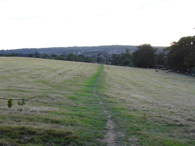 Merry Hill looking towards Carpenders Park