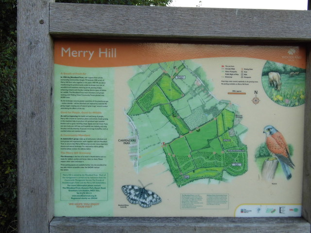 You are here, Merry Hill