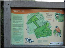TQ1293 : You are here, Merry Hill by David Howard