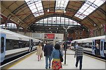TQ2878 : Platforms at London Victoria Station by Trevor Harris