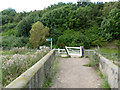 SK8055 : Fiddler's Elbow Bridge - 2  by Alan Murray-Rust